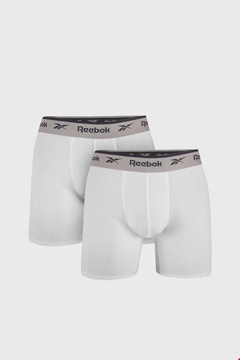 2 PACK λευκά μποξεράκια Reebok Basic Sport