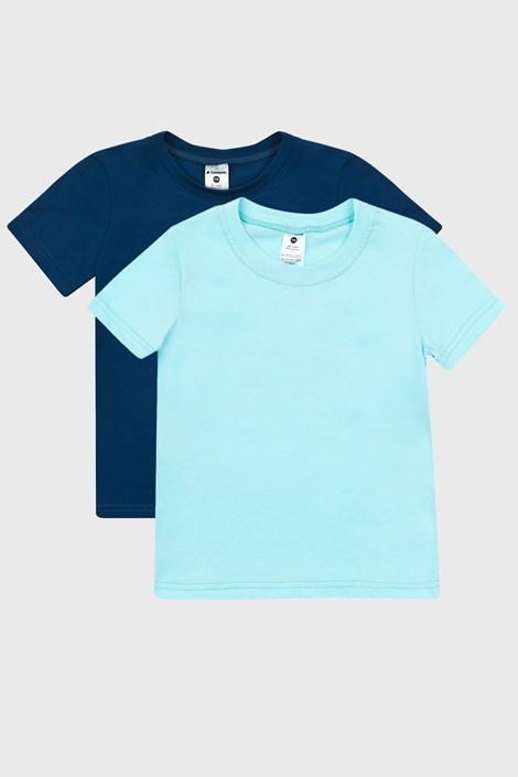 2 PACK μπλε μπλουζάκια για αγόρια