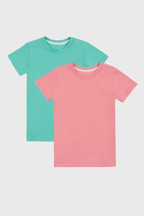 2 PACK basic μπλουζάκια για κορίτσια
