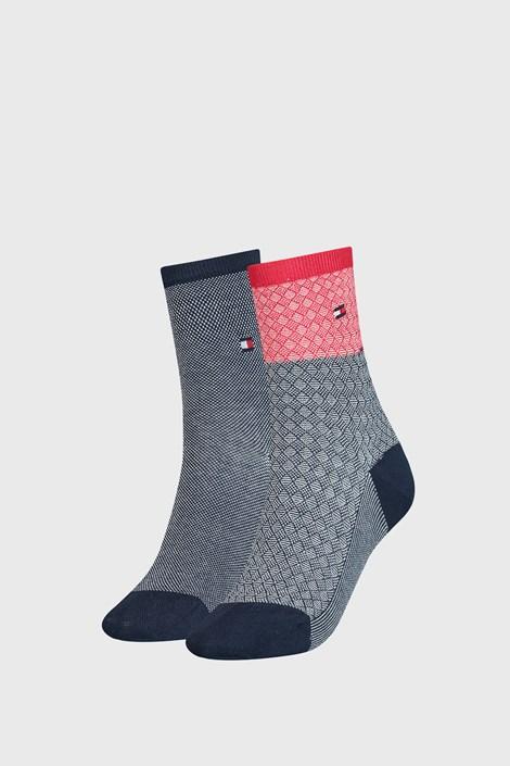 2 PACK γυναικείες κάλτσες Tommy Hilfiger Argyle I