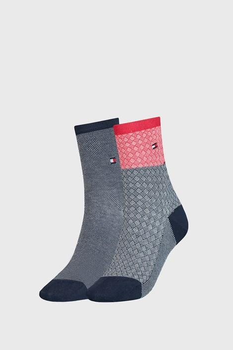 2 PACK γυναικείες κάλτσες Tommy Hilfiger Argyle III