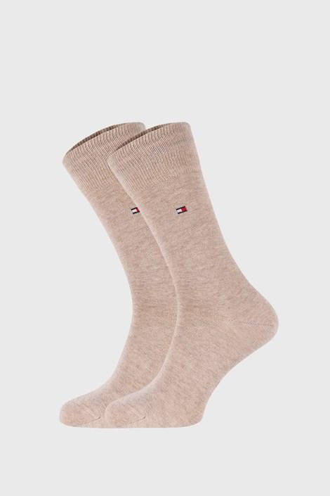 2 PACK κάλτσες Tommy Hilfiger Classic μπεζ