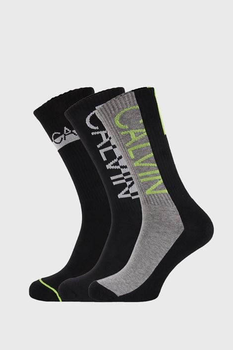3 PACK ψηλές κάλτσες Calvin Klein Jesse