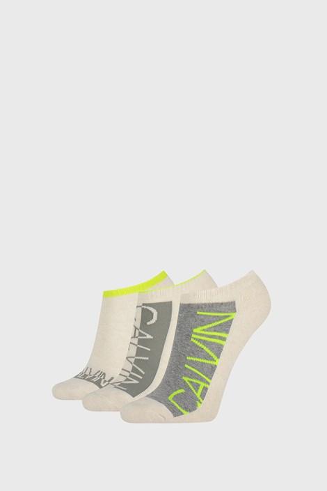 3 PACK γυναικείες κάλτσες Calvin Klein Nola μπεζ