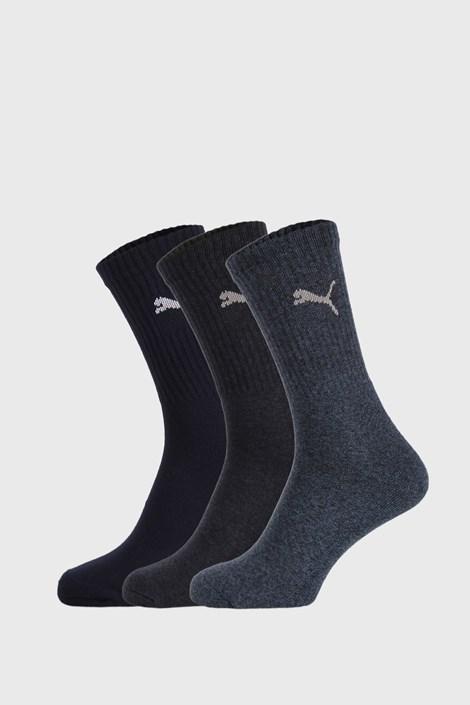 3 PACK κάλτσες Puma Sport μπλε σκούρο
