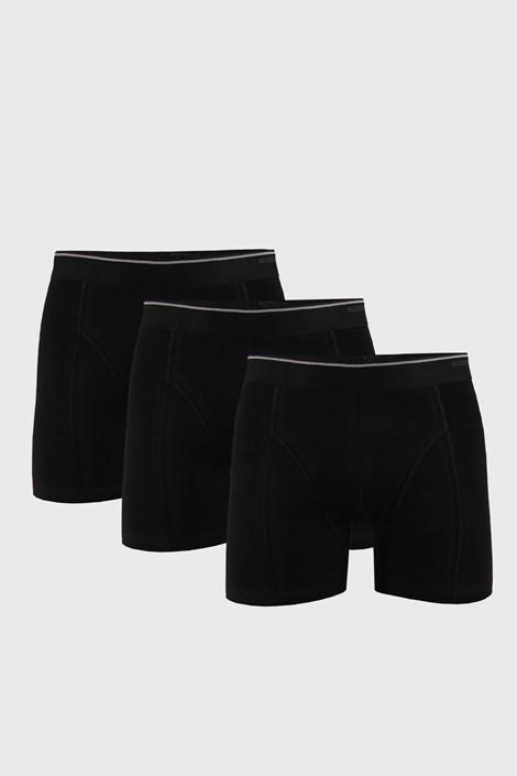 3 PACK μαύρο μποξεράκι Tender Cotton