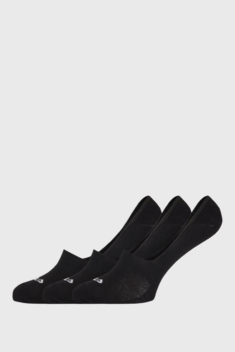 3 PACK μαύρες κάλτσες FILA Ghost