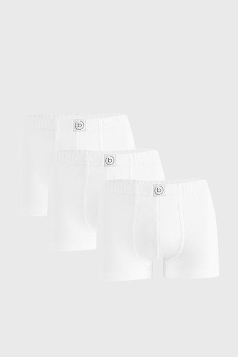 3 PACK λευκά μποξεράκια bugatti Finian