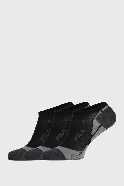 3 PACK μαύρες κάλτσες FILA Invisible