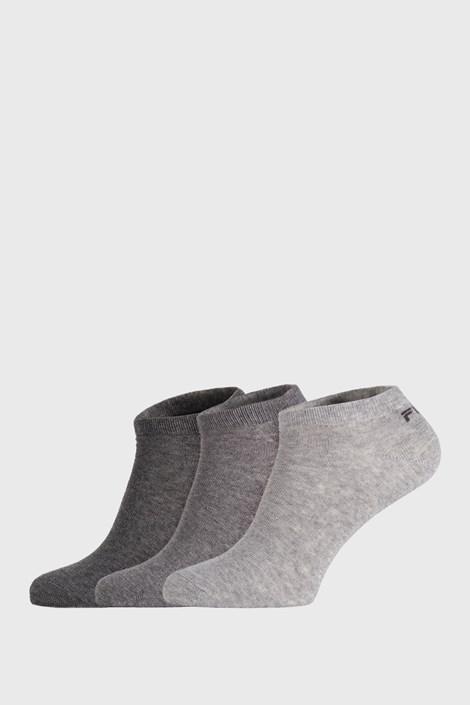 3 PACK κάλτσες FILA Invisible Mistygrey