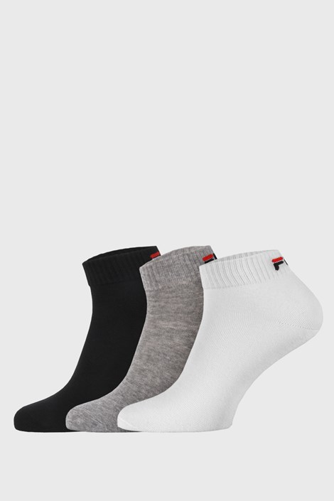 3 PACK χαμηλές κάλτσες σε τρία χρώματα FILA