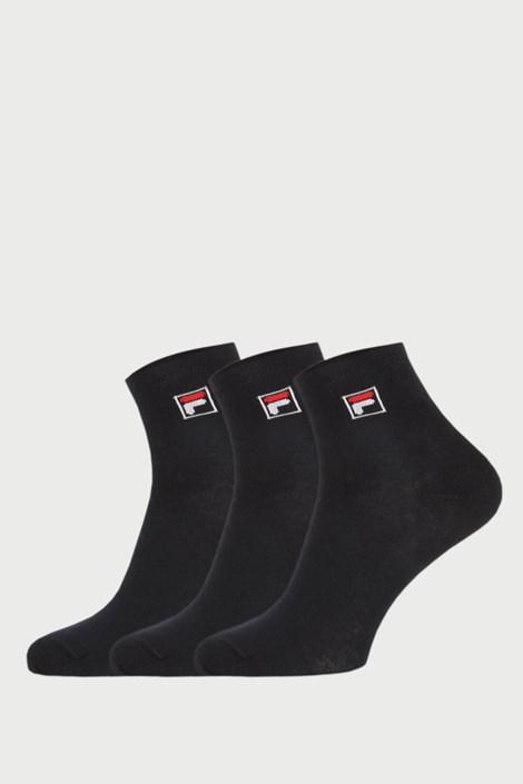 3 PACK μαύρες κάλτσες μέχρι αστράγαλο FILA