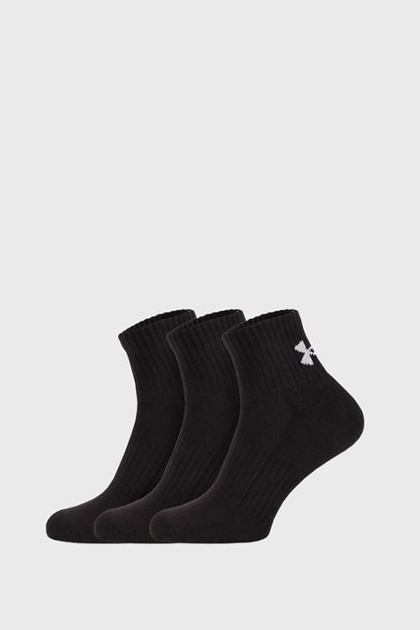 3 PACK κάλτσες Core Under Armour μαύρες