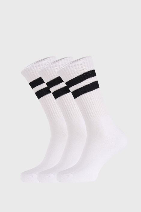 3 PACK λευκές κάλτσες Active