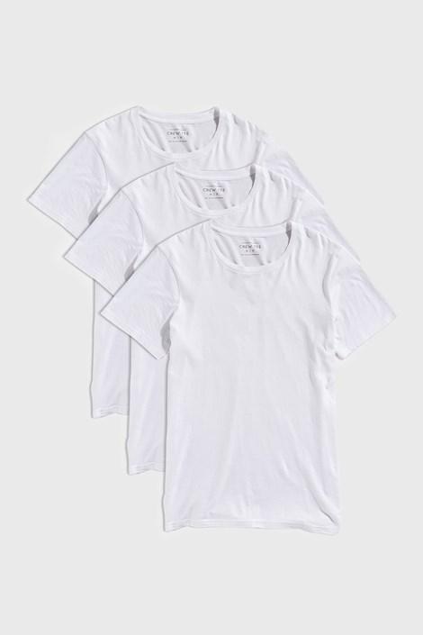 3 PACK λευκά μπλουζάκια Austin