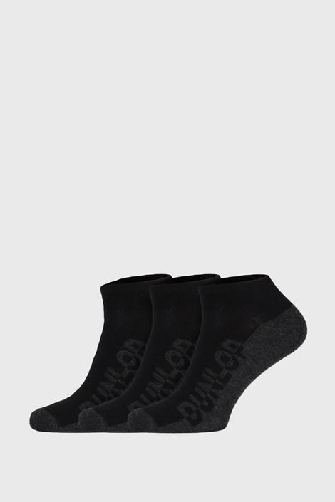 3 PACK μαύρες κάλτσες Dunlop