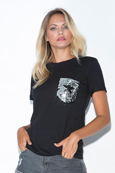 Γυναικεία κοντομάνικη μπλούζα Star