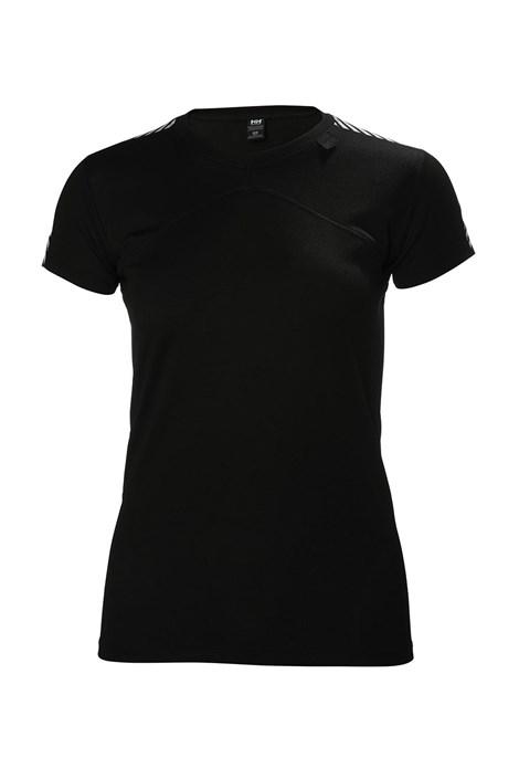 Γυναικείο μαύρο μπλουζάκι Helly Hansen