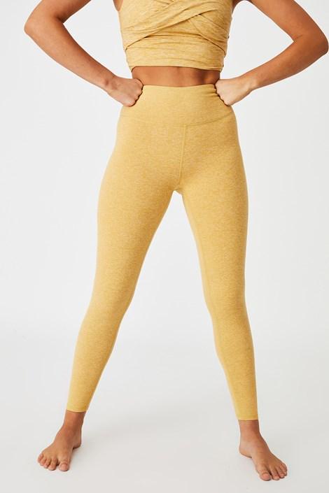 Αθλητικό κολάν So Peachy κίτρινο