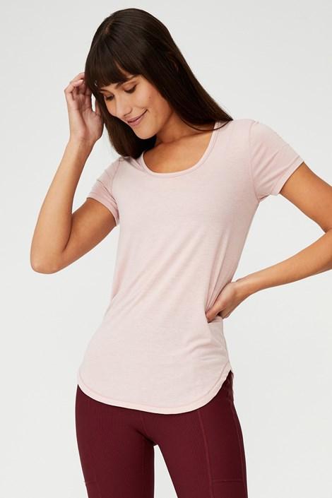 Αθλητικό μπλουζάκι Gym ροζ