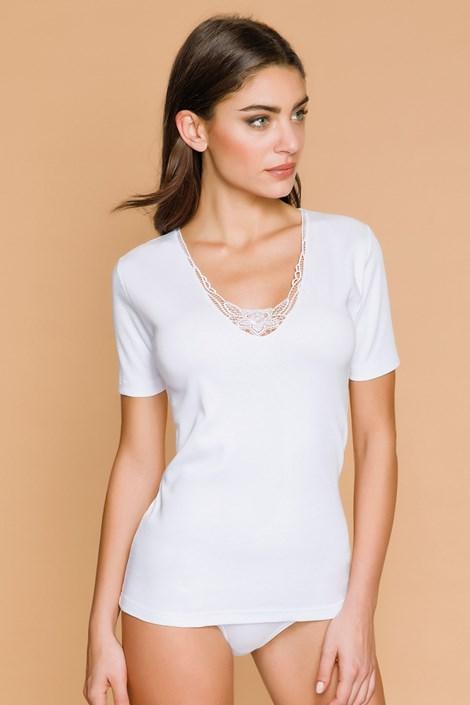 Γυναικείο μπλουζάκι με δαντέλα