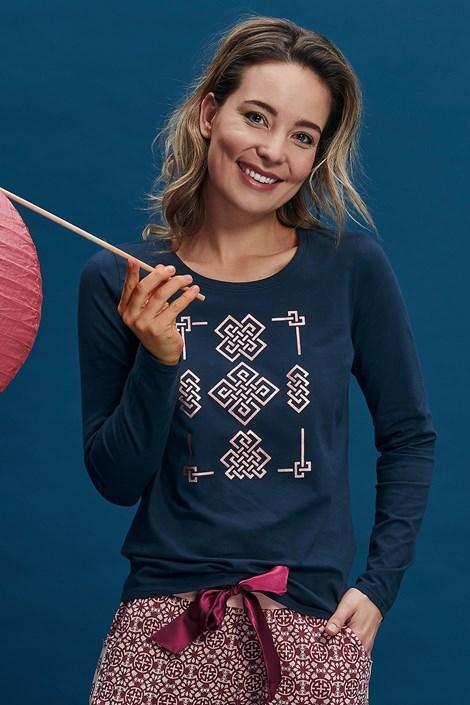 Γυναικείο μπλουζάκι πυτζάμας Amira