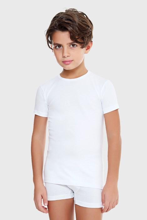 Μπλουζάκι για αγόρια E. Coveri basic λευκό