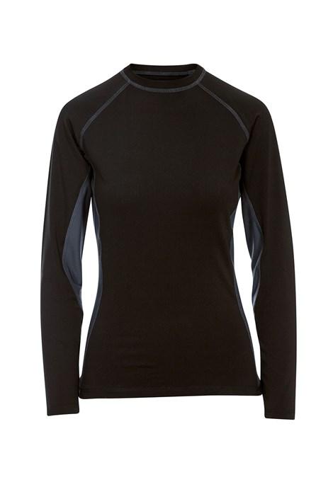 Γυναικείο μαύρο μπλουζάκι Exploit