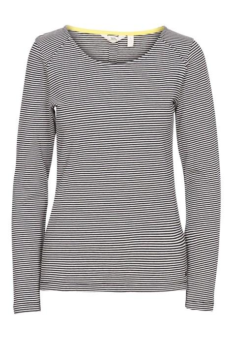Γυναικείο μαύρο μπλουζάκι Caribou