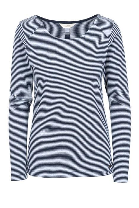 Γυναικείο μπλε μπλουζάκι Caribou