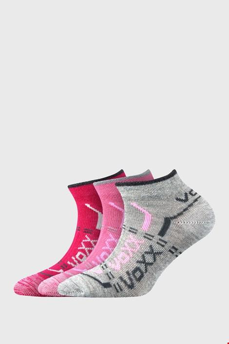 3 PACK χαμηλές κάλτσες για κορίτσια VOXX