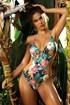 Γυναικείο μονοκίνι Tropical Flower L4401_01